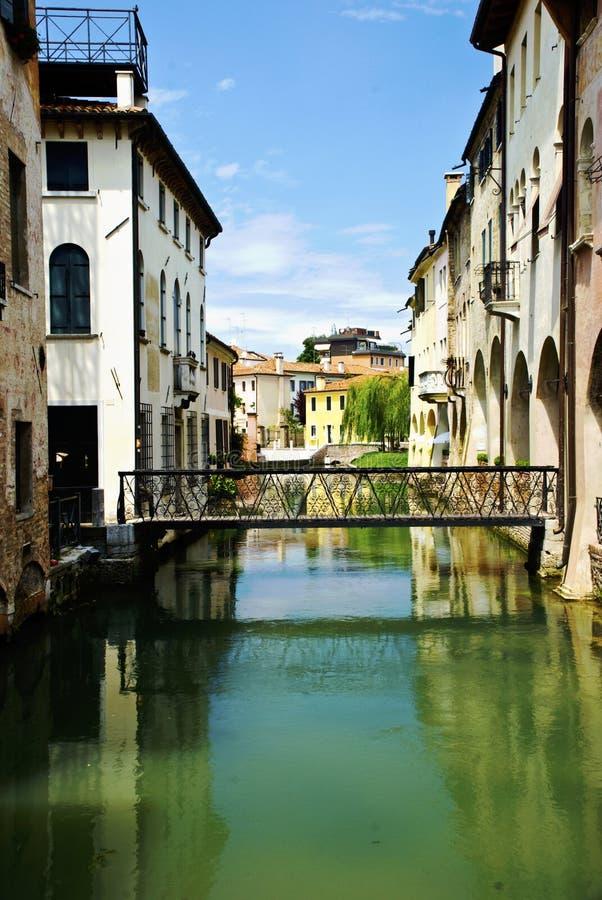 Treviso City stock photo