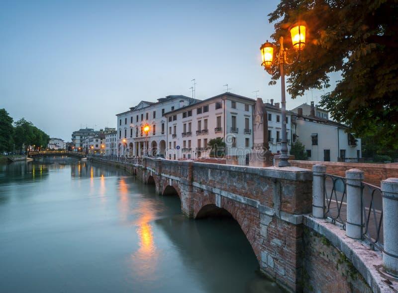 Treviso, stad Italië royalty-vrije stock fotografie