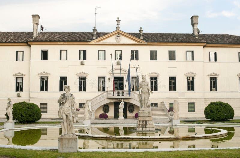 Treviso (Veneto, Italy) - Ancient villa royalty free stock photography