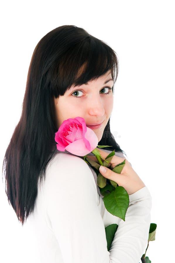 trevlig flicka royaltyfria foton