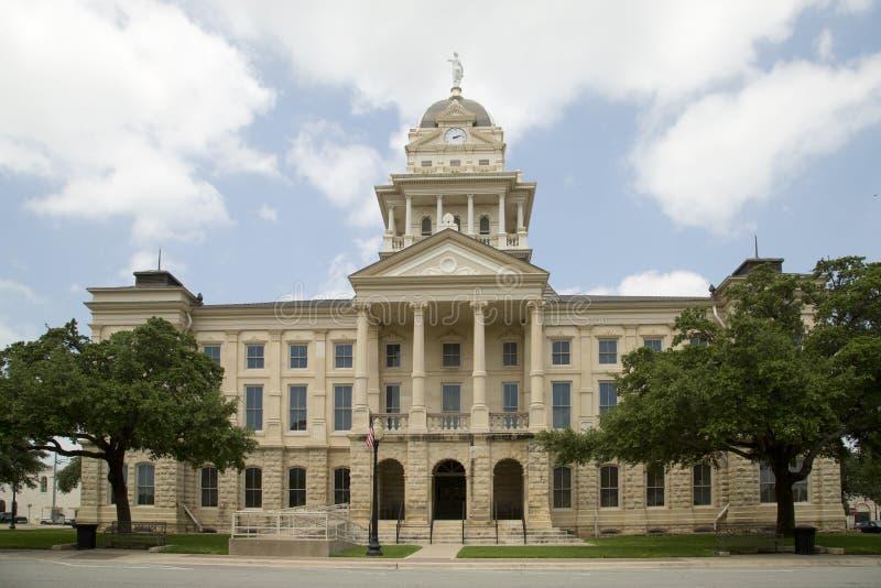Trevlig historisk byggnadBell County domstolsbyggnad arkivbilder