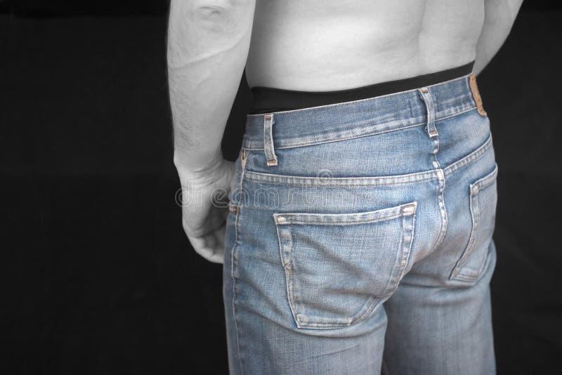 Download Trevlig jeans arkivfoto. Bild av denim, jeans, manlig, varmt - 512834