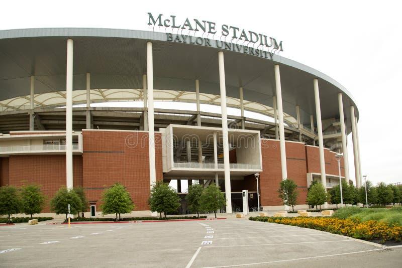 Trevlig McLane stadionyttersida royaltyfri bild