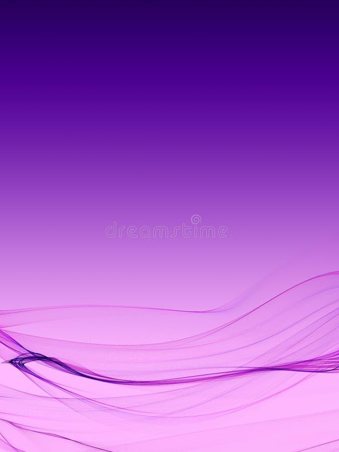Trevlig mycket mjuk bakgrund för abstrakt begreppflamvåg med slät färglutning vektor illustrationer