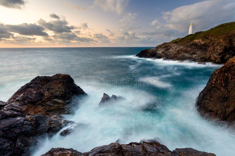 Download Trevose Head Cornwall stock image. Image of scenic, trevose - 26983289