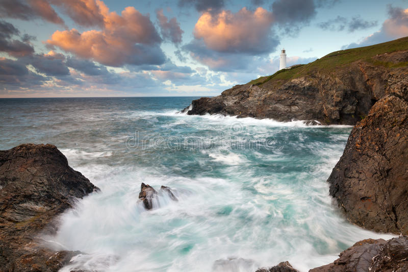 Download Trevose Head Cornwall stock image. Image of dust, coastline - 26983339