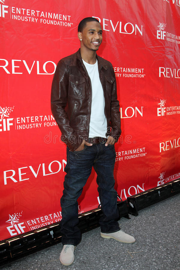 Download Trey Songz editorial stock photo. Image of foundation - 14101873