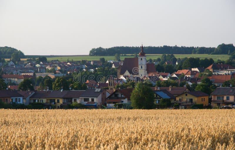 Trhove Sviny, Tjeckien fotografering för bildbyråer