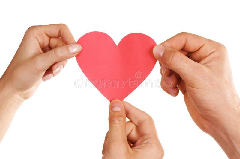 Triángulo amoroso imágenes de archivo libres de regalías