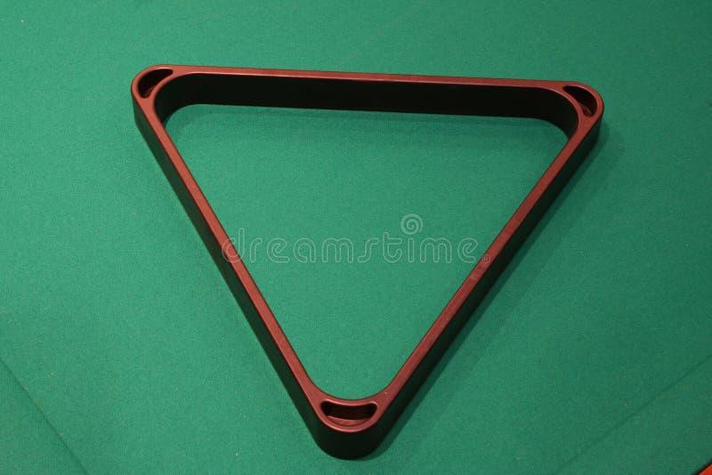 Triángulo de la piscina foto de archivo