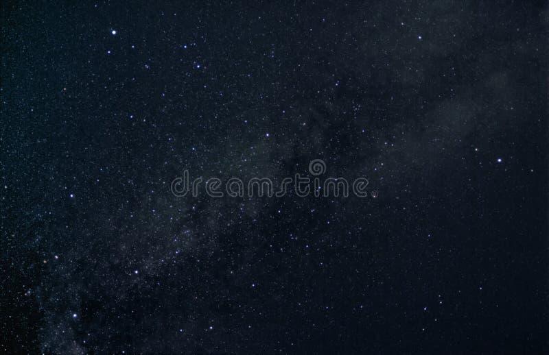 Triángulo del verano de estrellas foto de archivo
