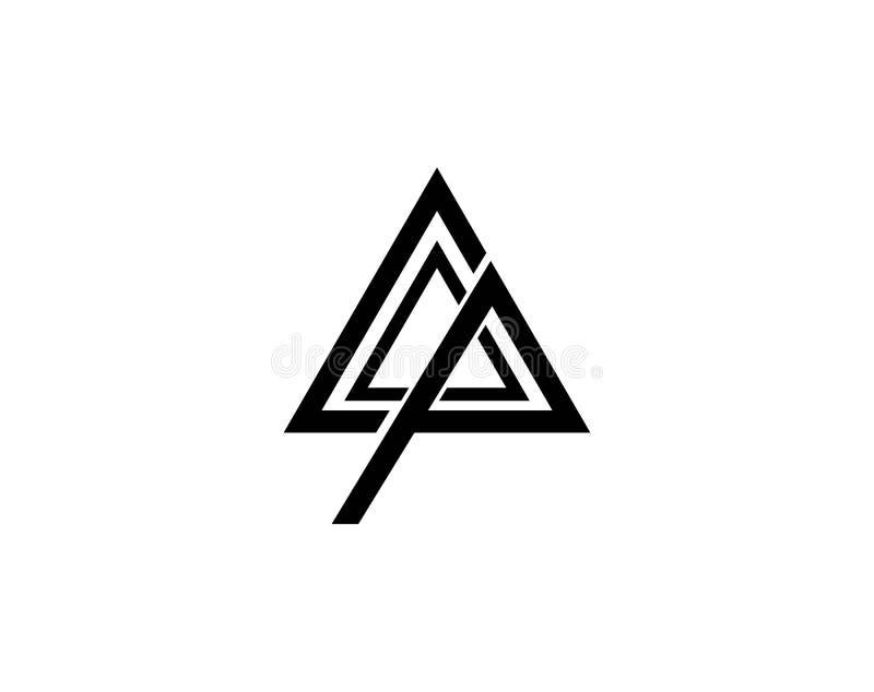 Triángulo Logo Template libre illustration