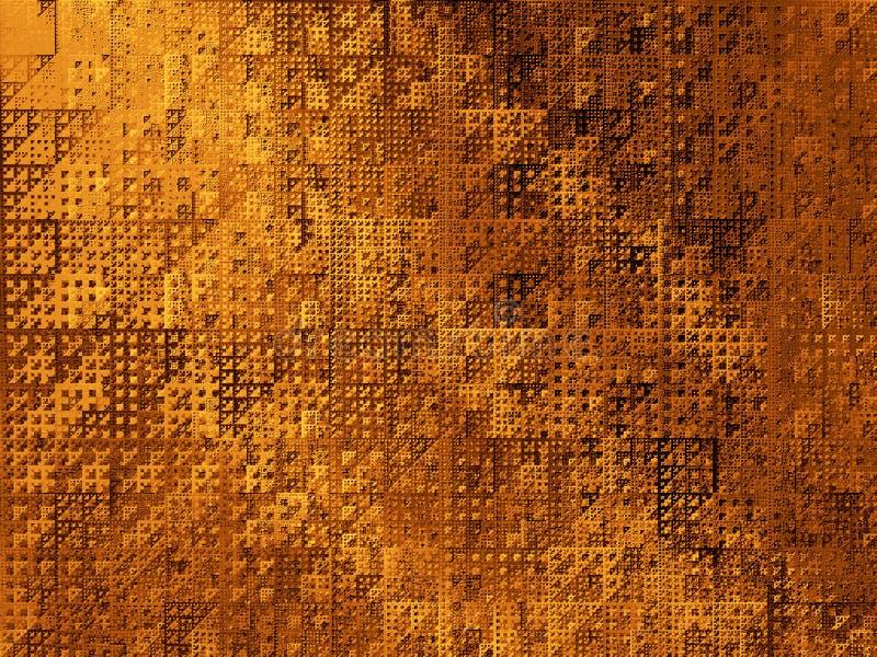 Triángulos abstractos del fondo II ilustración del vector