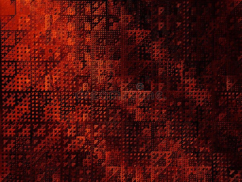 Triángulos abstractos del fondo III libre illustration