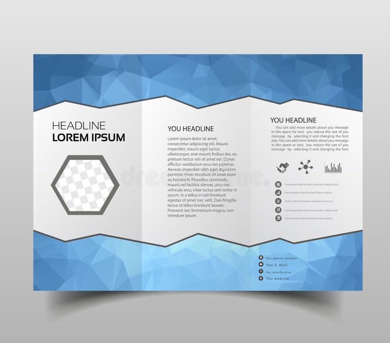 Triángulos Abstractos Triples Poligonales De La Plantilla Del Diseño ...