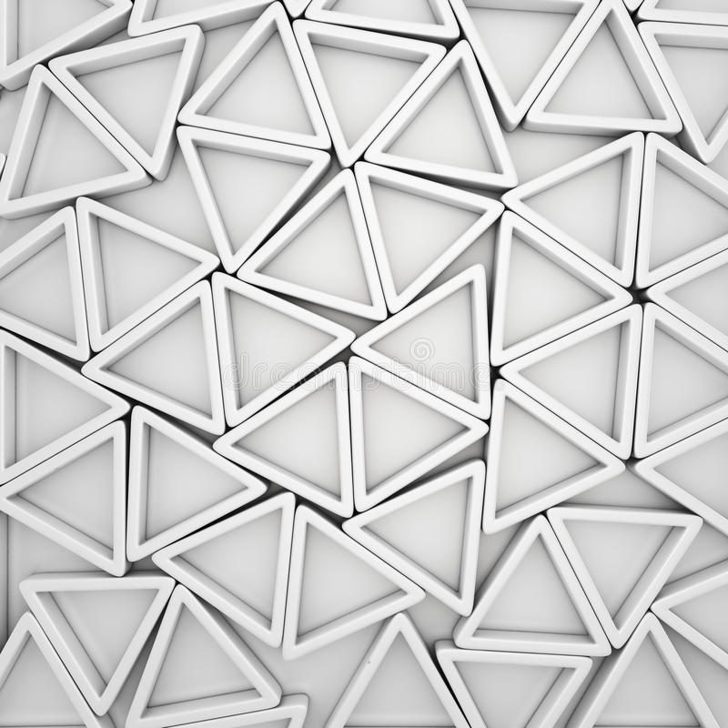 Triángulos blancos libre illustration