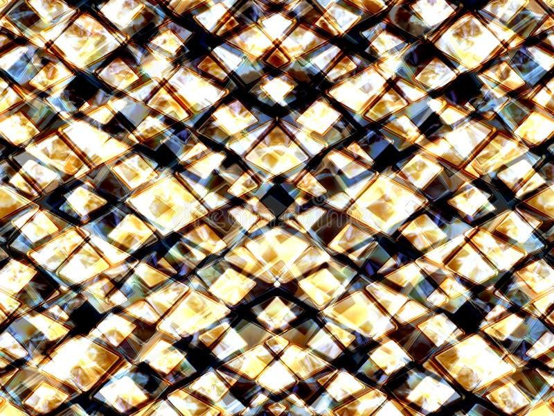 Triángulos brillantes 2 stock de ilustración
