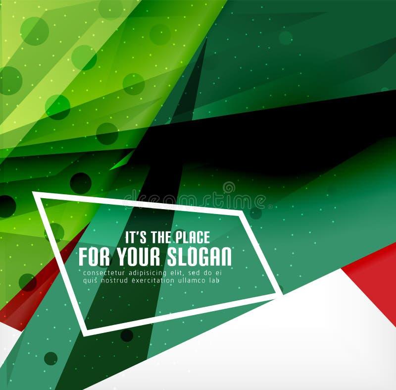 Download Triángulos Traslapados Brillantes Modernos 3d Ilustración del Vector - Ilustración de composición, moderno: 42437417