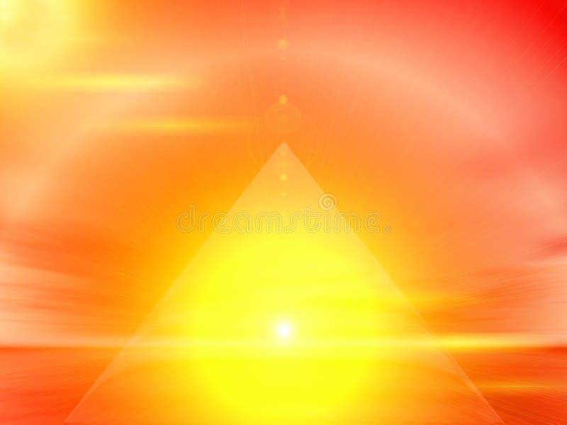 Triângulo ilustração stock