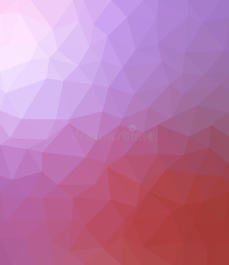 Triângulo cor-de-rosa e azul imagens de stock royalty free