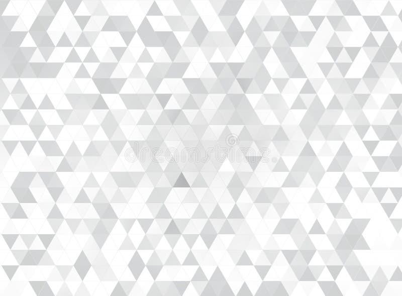 Triângulos brancos ilustração do vetor