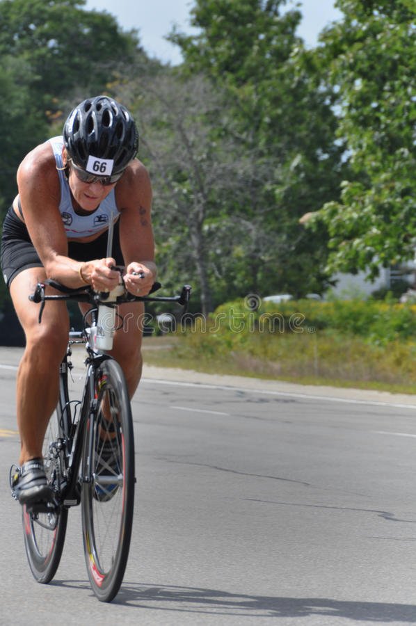 Tri-For-A-Cure Triathlon To Fight Cancer Editorial Image