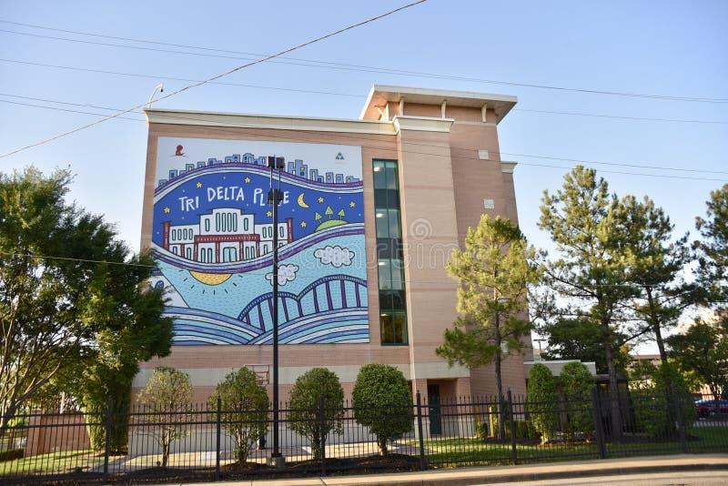 Tri-deltaplaats, Memphis, TN stock foto's