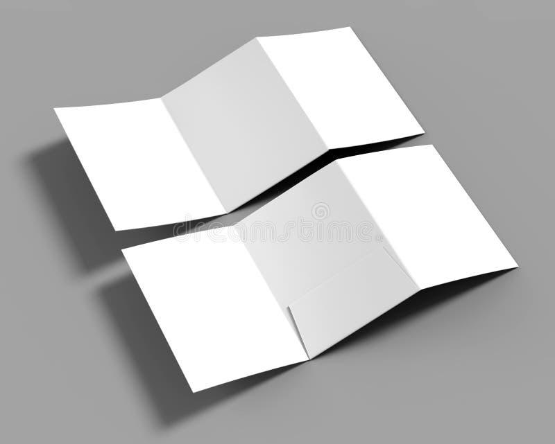 tri fold blank white reinforced a4 single pocket folder catalog on