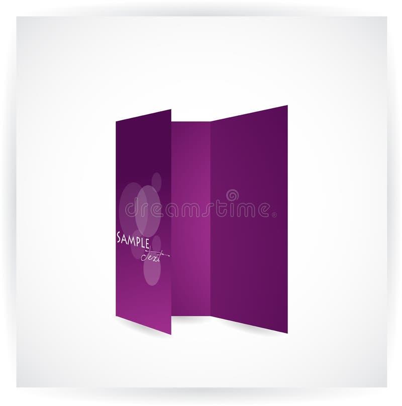Download Tri-fold brochure design stock vector. Image of copy - 20321554