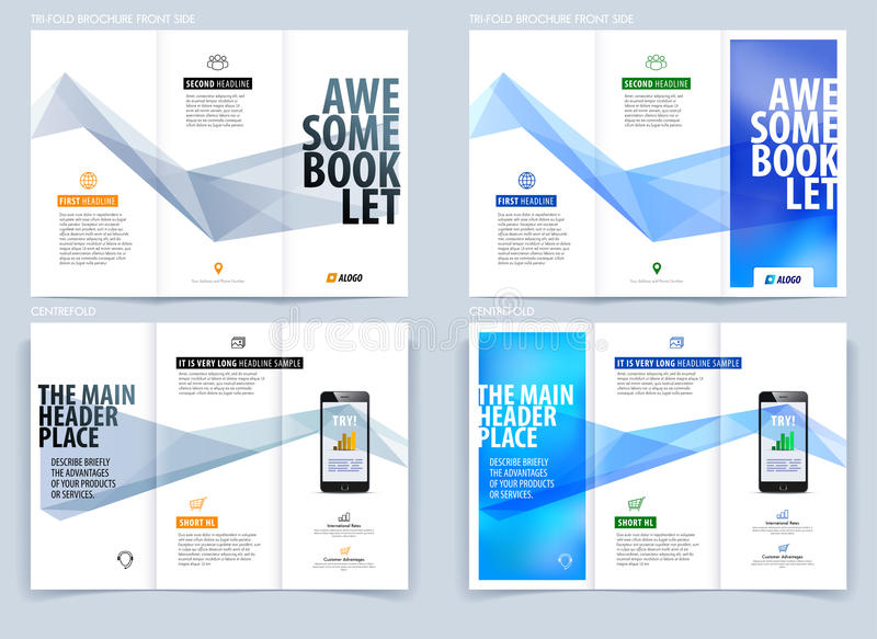 engineering brochure templates free download - tri fold brochure template layout cover design flyer in
