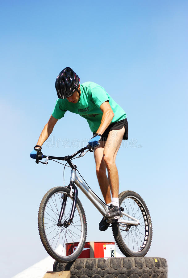 Download Trial Biker At Trial Jam Event Editorial Stock Photo - Image: 21197838