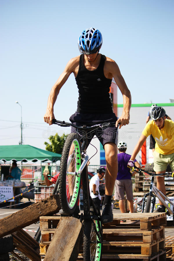 Download Trial Bikers At Trial Jam Event Editorial Photo - Image: 21197941