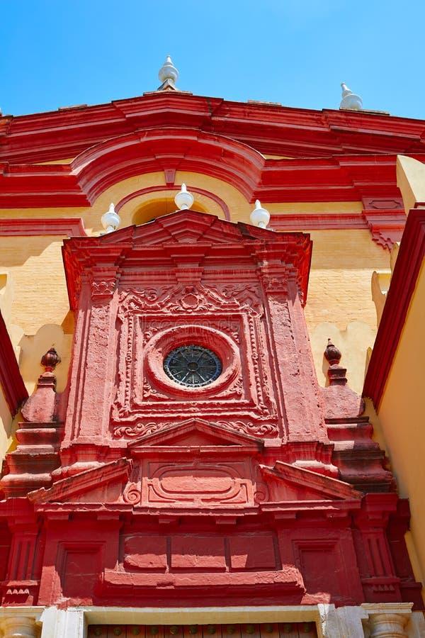 Triana-Barrio in Kirche Spanien Sevillas Santa Ana lizenzfreie stockbilder