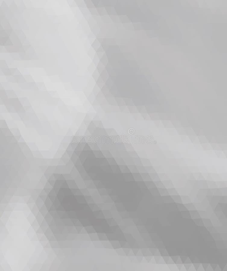 Triangels cinzentos e brancos multicoloridos foto de stock royalty free