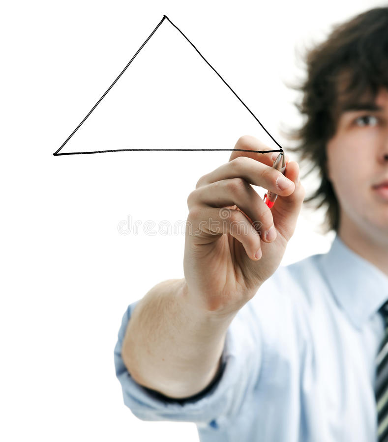 Triangle Stock Image