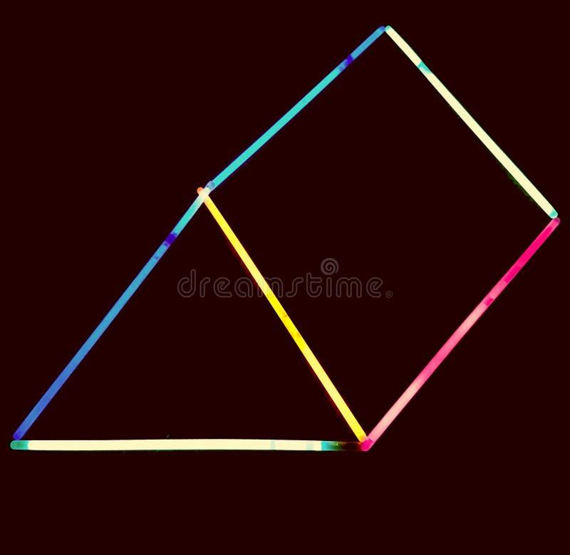triangle photo stock