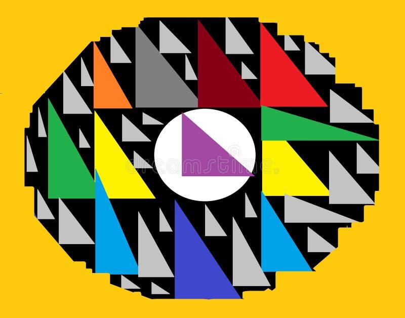 Triangle Art Abstration photos stock