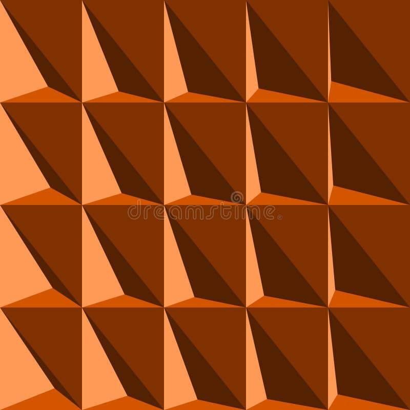 Triangle d'illusion optique illustration stock