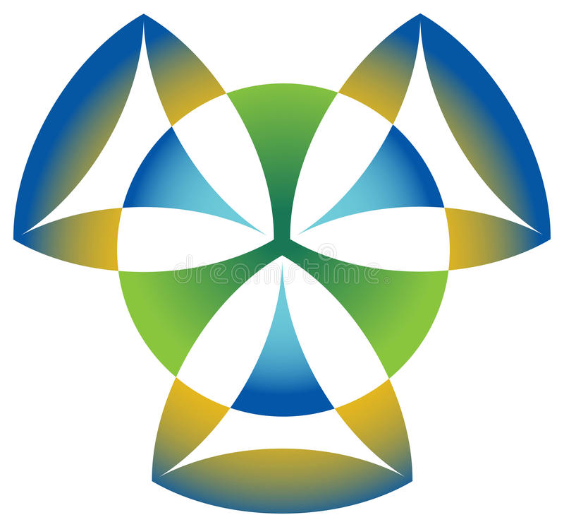 Triangle Emblem Stock Images