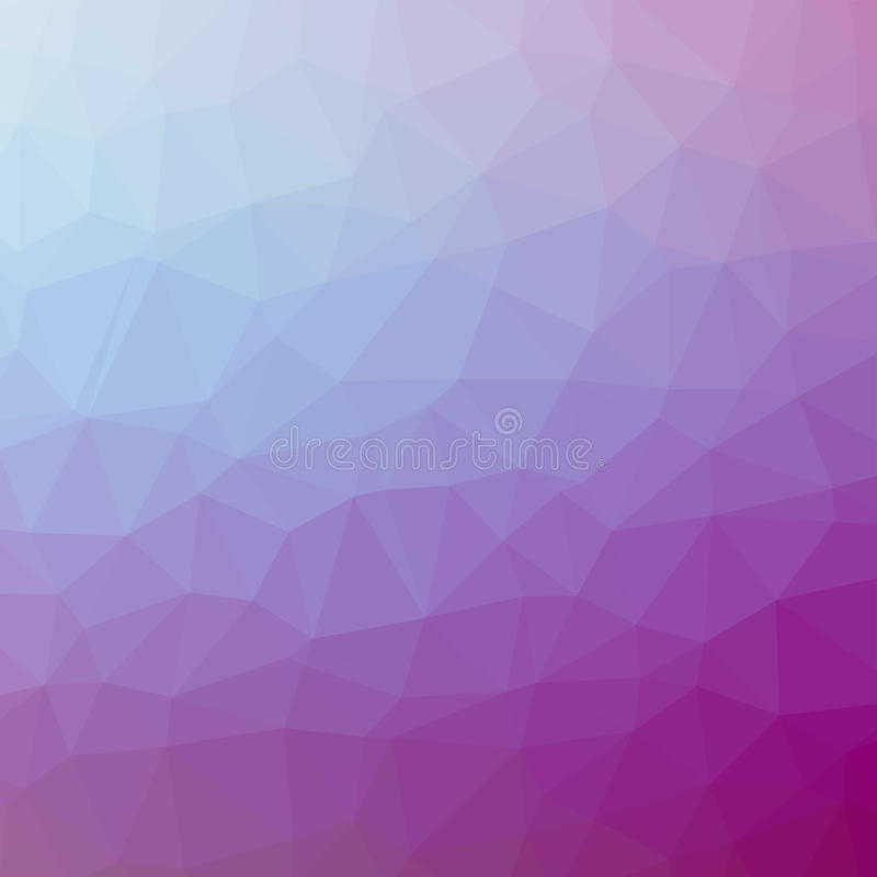 Triangle pattern background. Colorful mosaic banners illustration royalty free illustration