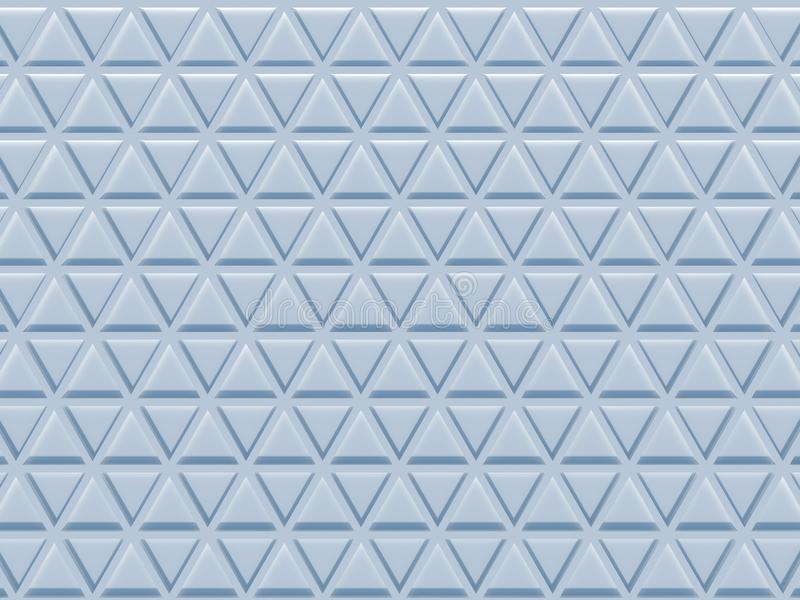 Triangle pattern 3D rendering royalty free stock photos