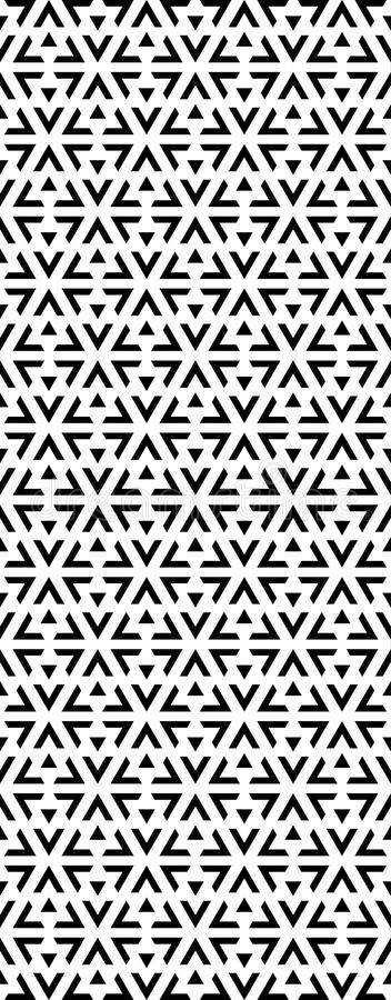 Triangle pattern for metal cutting, laser cutting, partition, screen, background. Triangle pattern . Design print for metal cutting, laser cutting, background vector illustration