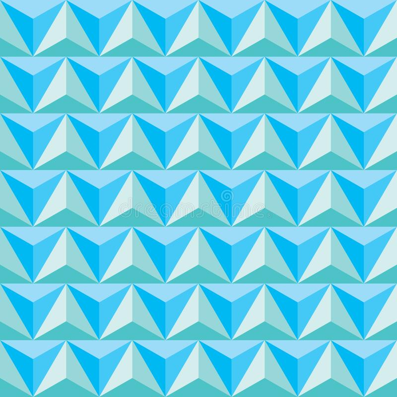 Triangle pattern. Seamless vector design Abstract vector illustration vector illustration
