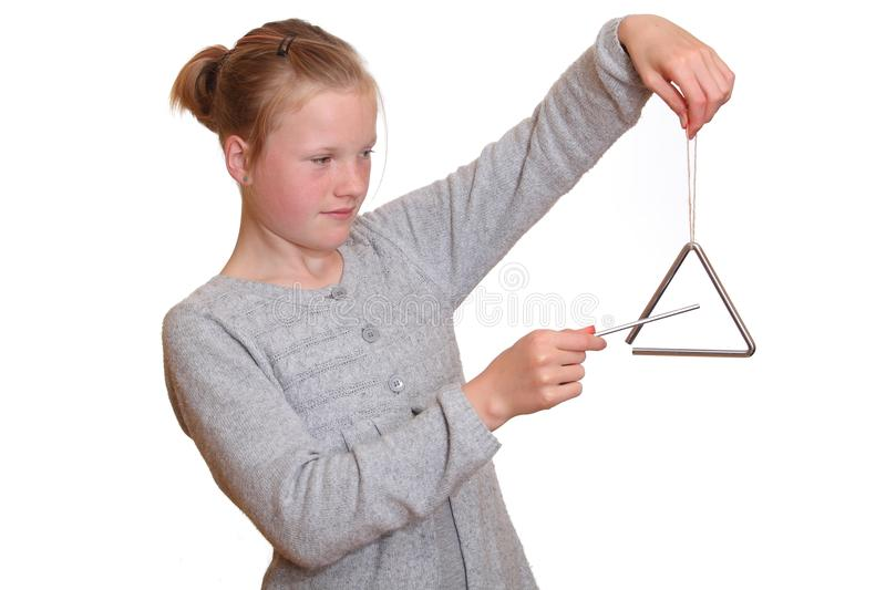 Download Triangle player stock photo. Image of child, shape, shiny - 20050730