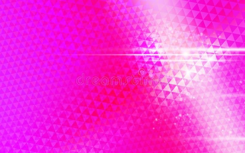 Triangle rose de fond images libres de droits
