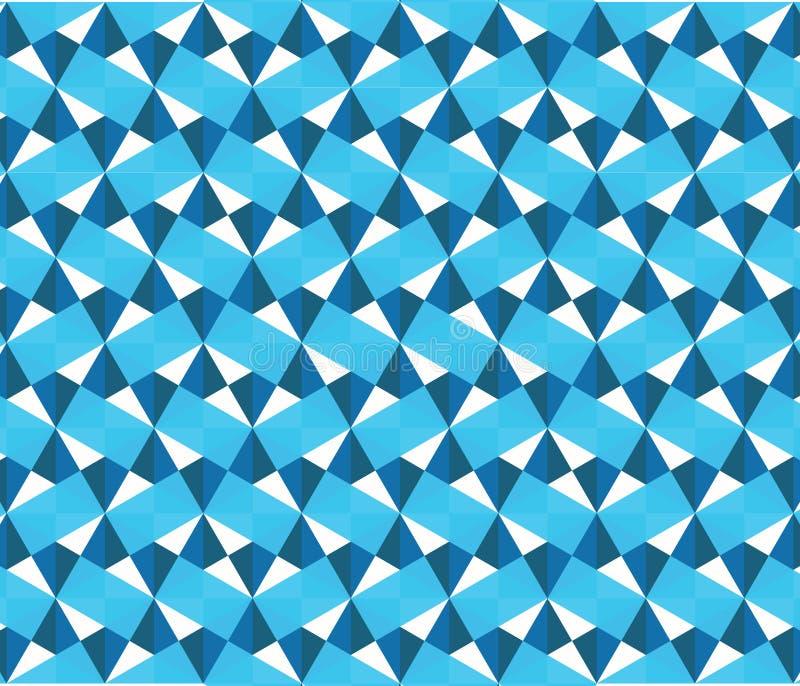 Triangle-Seamless-Pattern-001 illustrazione vettoriale