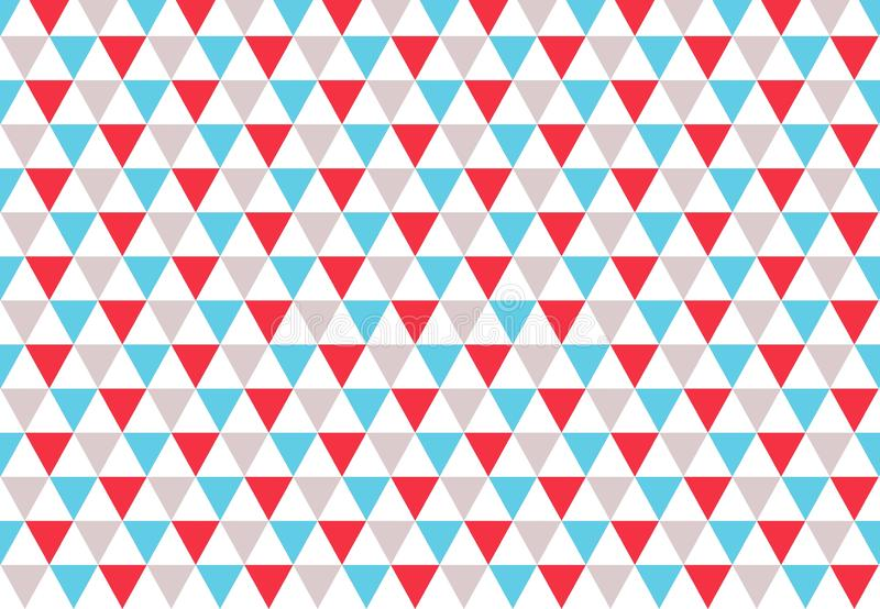 Triangle seamless pattern background. Illustration design. Floor, wall, wallpaper, texture, decoration, concept, creative, graphic, fabric, flannel, repeat stock images