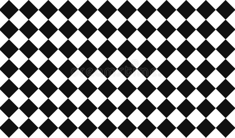 Triangle seamless pattern background. Illustration design style. Black, white, mosaic, wall, art, creative, graphic, floor, concept, silhouette, modern, dress stock images