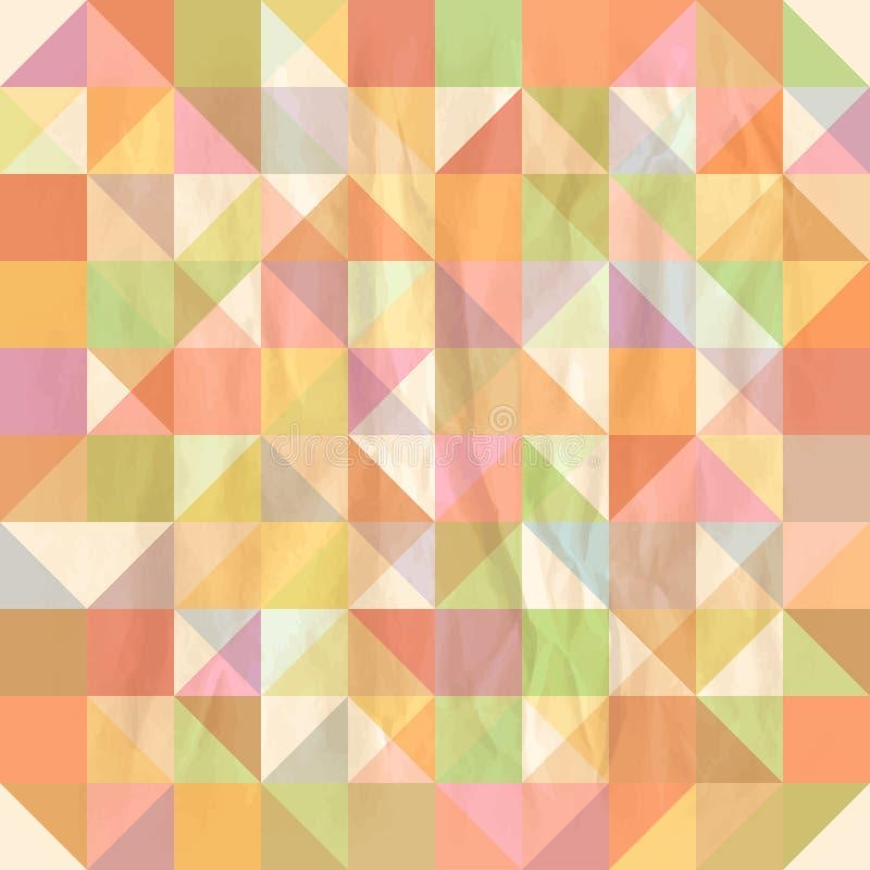 Triangle seamless pattern royalty free illustration