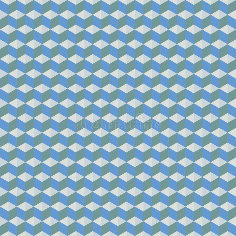 Triangle. Seamless vector background with abstract geometric pattern. Repeating royalty free illustration